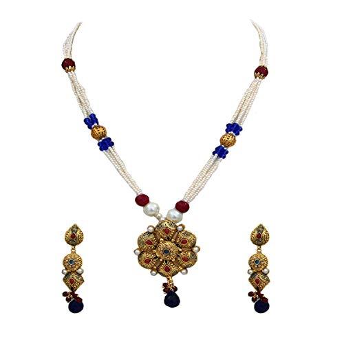 Caratyogi chapado en oro-cobre Cuentas de perlas de piedra.
