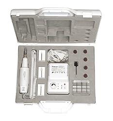 Hochwertiges Maniküre/Pediküregerät zur professionellen Anwendung mit 12 Aufsätzen, Rechts-und Linkslauffunktion und Luftkühlung
