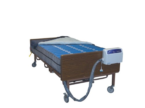 Drive Medical Med Aire Plus Bariatric Low Air Loss Mattress Replacement System, 80' x 42'