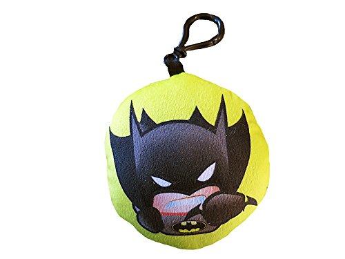 Warner Bros Batman cojín, poliéster, Amarillo/Negro, 10x 10x 4cm