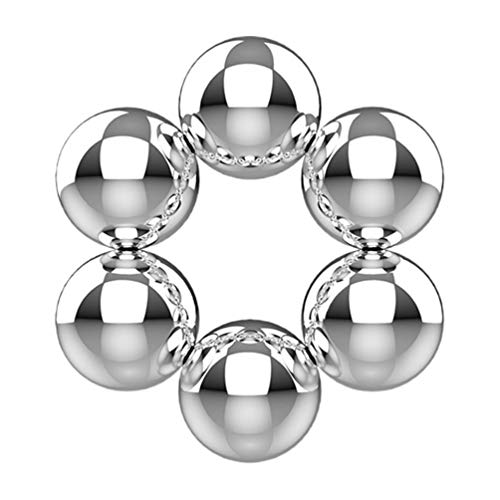 EXCEART 6 Stücke Magnetische Nippelklemmen Magnetkugeln Nippelklammern Brustklammern Brustwarzenpiercing Nippel Stimulation für Damen Frauen Paare Erwachsene Flirt Erotik SM Spielzeug
