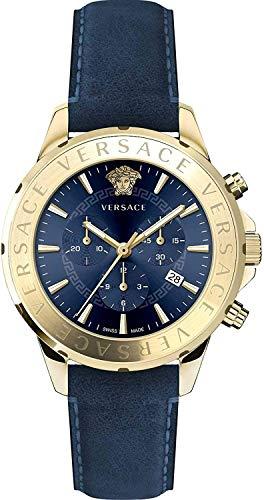 Versace Reloj de pulsera para hombre, cronógrafo, reloj de pulsera Signat VEV6003 19