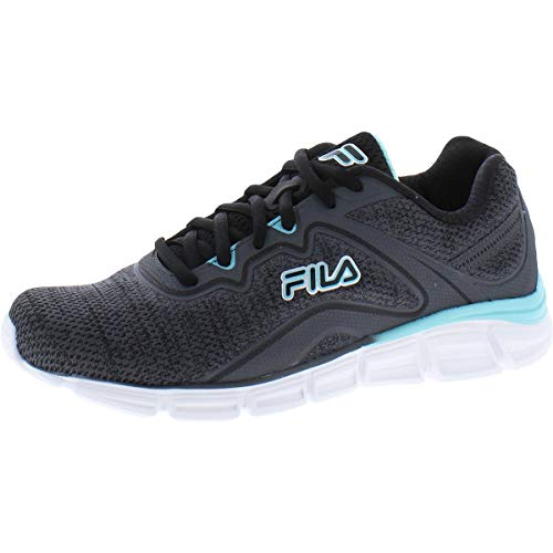 Fila Memory Vernato 5 Women's Running 6.5 B(M) US Grey-Black-Blue