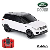 CMJ RC Cars™ Range Rover Sport Officially Licensed Remote Control Car 1:24 Scale Working Lights 2.4Ghz (White)