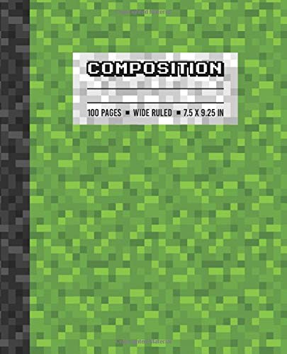 powerful Contents: A wide line of writing books for boys and girls, a letterhead with a green pixel pattern for gamers …