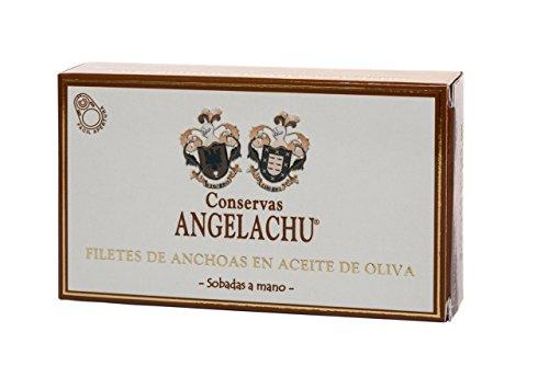 Anchoas de Santoña sobadas a mano en aceite de oliva virgen extra – 50 g