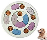 Dog Puzzle Toys,Dog Puzzles,Interactive Dog Toys,Dog Slow Feeder Puzzle Toy,Dog Play Hide and Seek IQ Food Training Game for Pet Dogs Puppy Cats Prevent Boredom and Upset