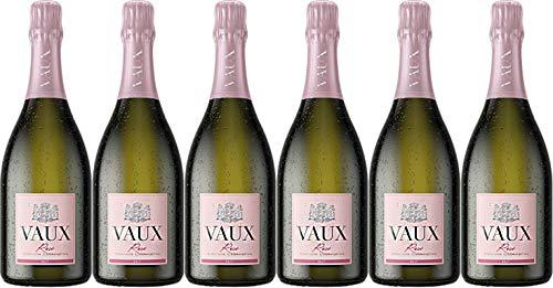 Schloss Vaux VAUX Rosé Sekt 2019 Brut (herb) (6 x 0.75 l)