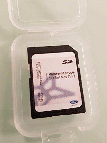 Karte SD GPS Ford MFD Sony Europa V72017, nicht Touchscreen Only