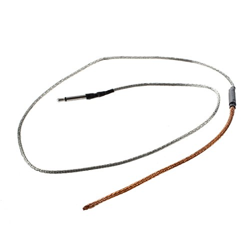 Prelievo Piezo - SODIAL(R) Curvabile piezo cavo sotto la sella di prelievo per chitarra acustica