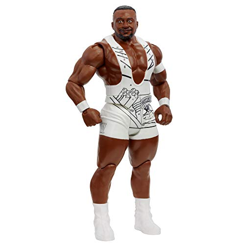 WWE Big E Action Figure Series 115 Action Figure Posable 6 in Collectible for Ages 6 Years Old and Up