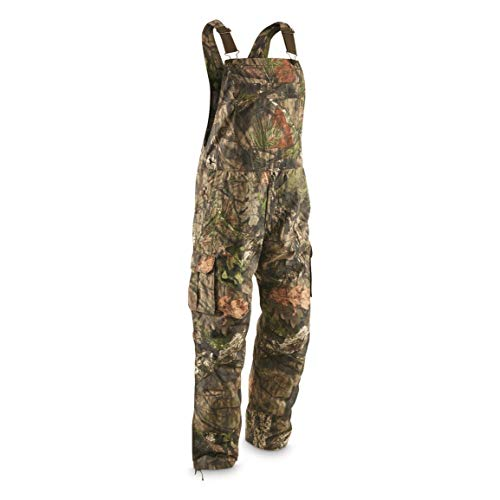 Guide Gear Ripstop Camo Work Bibs, Mossy Oak Country, W48 L30
