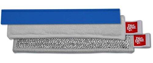 Dirt Devil 0400001 Kit de 8 Accessoires 28 cm pour Nettoyeur à vitres Aquaclean DD400