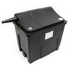 SunSun Biofilter CBF-200A Filtersystem 1 kammarsystem för 6000 L/h inkl filtermaterial