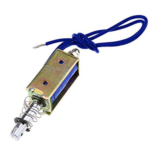 Insmart Herramienta de solenoide de electroimán Tipo Cuadro de 12V Actuador de imán eléctrico Push-Pull