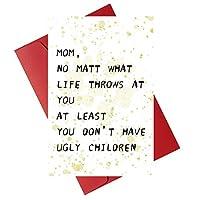 いたずらジョークカード 母の日カード 母の日カード