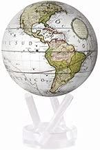 Antique Terrestrial White MOVA Globe 4.5