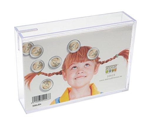 Deknudt Frames S66JB4-10.0X15.0 Bilderrahmen/Spardose, Acrylglas, 30,5 x 24 x 9 cm