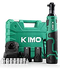 K I M O Cordless Electric Ratchet Wrench Set