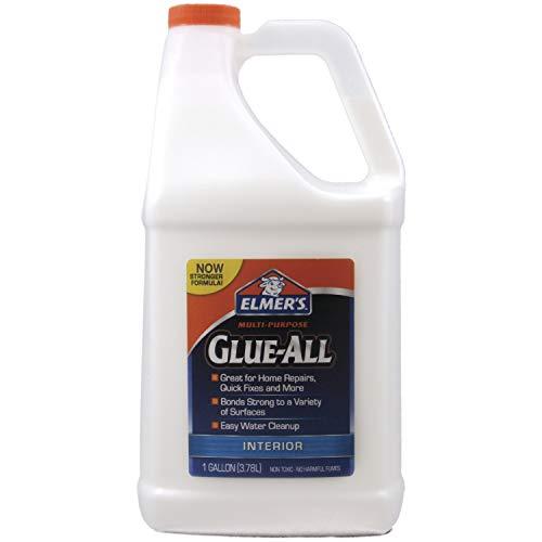 Elmer's Products, Inc E3860 Multi-Purpose Glue-All, 1 gal, White, 128 Fl Oz