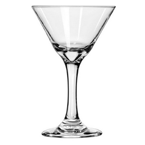 Mini Martini Glasses for all occasions Case of 12 glasses --7.5 oz