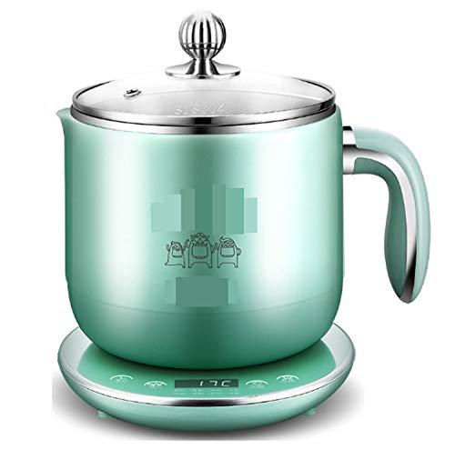 NANXCYR huishoudelijke koeling, groen, 1,8 l, 800 W, HotPot automatische rijstkoker met antiaanbaklaag