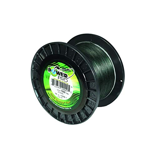 Power Pro 10-500-G Spectra Braided Fishing Line, 10-Pounds, 500-Yards,...