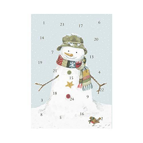Wrendale Designs Sally Swannell Adventskalender Schneemann