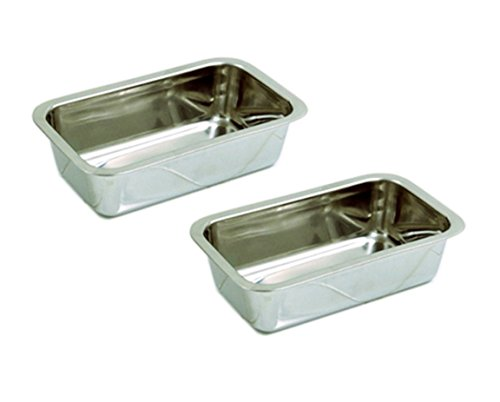 small stainless steel loaf pan - 4