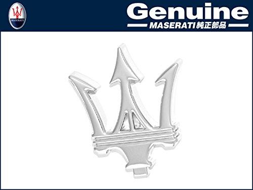 Maserati Original Grille Emblem Dreizack Tridente Chrom vorne 386100131