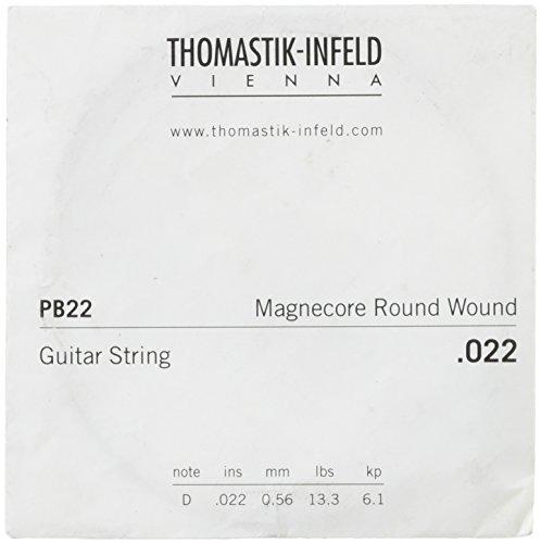 Thomastik-Infeld PB229738E-Gitarre Saiten: power-brights Magnecore rund gewickelt–D-Einzelsaite