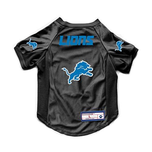 NFL Detroit Lions Pet Stretch Jersey, X-Large