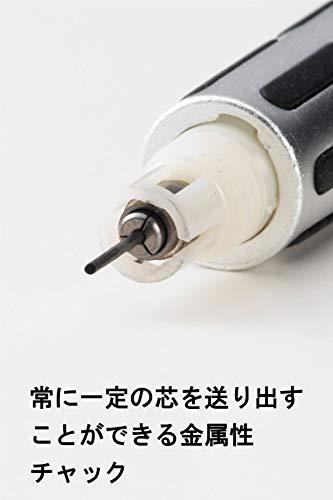 Pentel mechanical pencil GRAPH1000 0.5mm Black (japan import) Photo #2