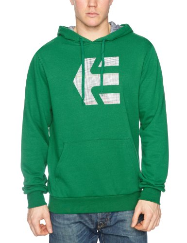Etnies Herren Sweatshirt ICON Fill Pullover Fleece XL Kelly Green