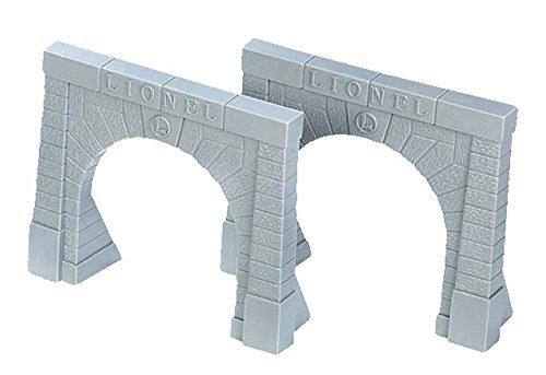 Lionel Electric O Gauge Model Train Accessories, Tunnel Portals (Set of 2)