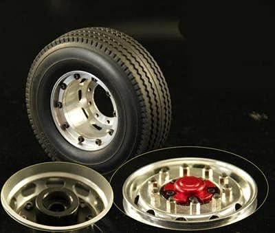 DNKKQ 1 Max 49% OFF 14 Tractor Trailer Lock Aluminum Charlotte Mall Wheel Hub Alloy Unpower