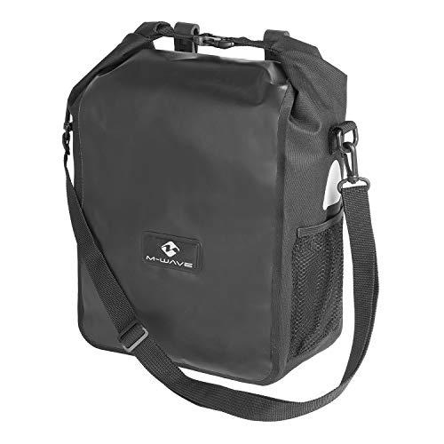 M-Wave Edmonton Seitentasche, schwarz, 26 x 13 x 47 cm