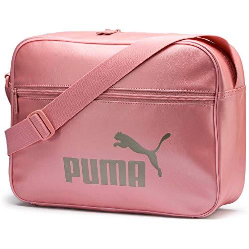 PUMA Wmn Core Up Reporter - Bandolera Mujer, Metalizado