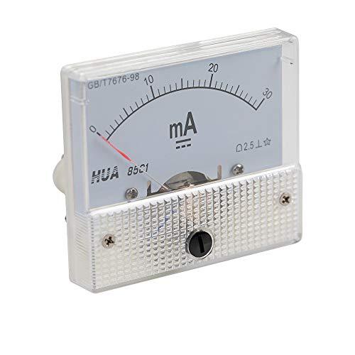 Cloudray 30mA Amperemeter HUA 85C1 Analog Amp Panel Meter Strom für CO2 Lasergravur Schneidemaschine