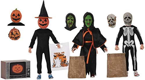 Halloween 3 NECA Season of The Witch Retro 8' Scale Clothed Action Figure 3 Pack