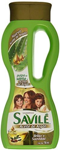 Savile Shampoo with Aloe Pulp & Argan Oil/Shampoo Con Pulpa De Sabila Y Aceite De Argan