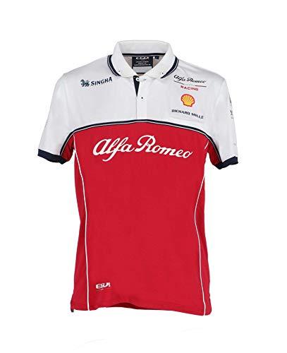 Alfa Romeo Racing Polo Team, Uomo, XXX-Large