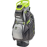 Sun Mountain C-130 Supercharged Cart Bag (Iron/Gunmetal/Gray/Lime)