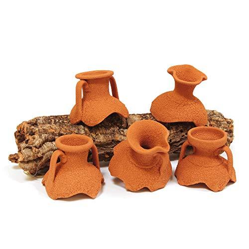 Wave Amphora Cou pour Aquariophilie Mini 6 cm