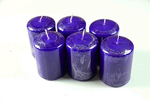 Set de lila, HX diámetro: 7 x 5 cm, 6 unidades-Pack