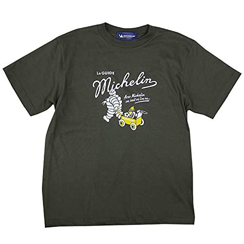 2021 ミシュラン アウトドア オフィシャル Tシャツ 限定モデル (M身幅51cm着丈71cm, オリーブ)