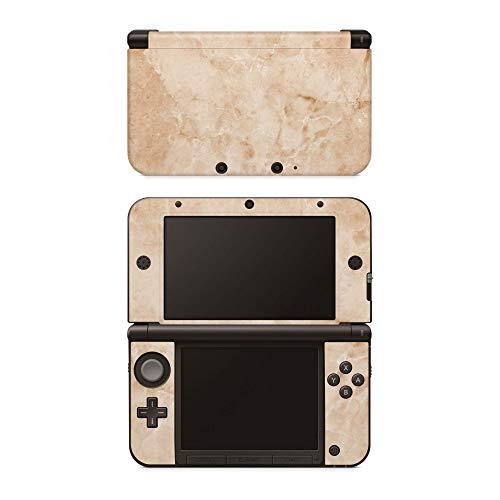 Skins4u Aufkleber Design Schutzfolie Vinyl Skin kompatibel mit Nintendo 3DS XL Marmor Gold
