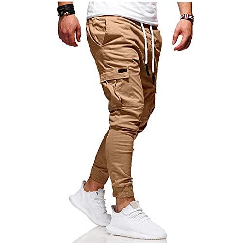 Sanfiyya los Hombres del Basculador de los Pantalones de la Nueva Manera Hombres pantalón de Fitness Culturismo gimnasios Pantalones Masculinos Corredores otoño Ropa Casual Pantalones Harem