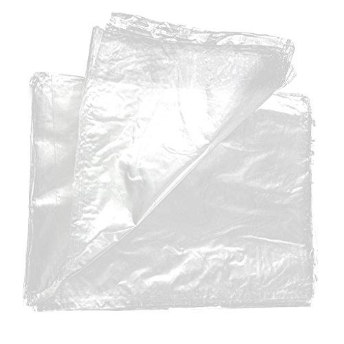 Angeln Köder PVA Bags wasserlösliche Tüten Tasche, 50 Stück - 15x20cm