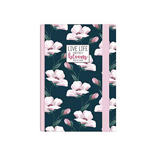 Legami - Agenda Settimanale 16 Mesi 2020/2021 Small, con Notebook, Flowers